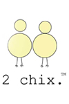 2 chix maternity novelty tees