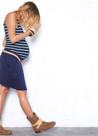Queen Bee Sum Of Us Maternity Skirt by Fillyboo