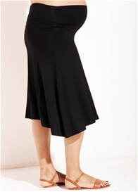 Queen Bee Obsession Jersey Maternity Skirt by Trimester Clothing