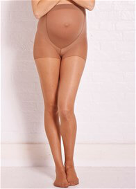 Queen Bee Nude Sheer Maternity Tights by Noppies