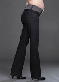 Queen Bee Straight Leg Maternity Jeans by Maternal America