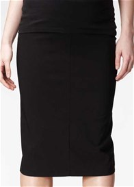 Queen Bee Black Maternity Pencil Skirt by Soon Maternity