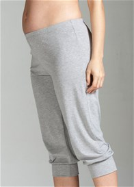 Queen Bee Fusion Grey Maternity Pants by Trimester Clothing