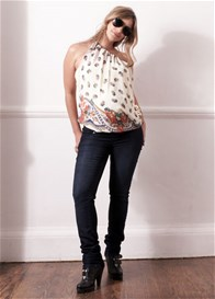 Queen Bee Cream Vintage 8 Way Maternity Top by LiL Designs