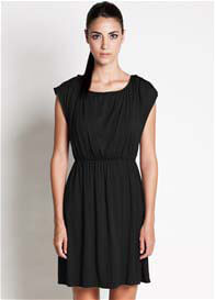 Dote - Noir Nursing Dress in Black