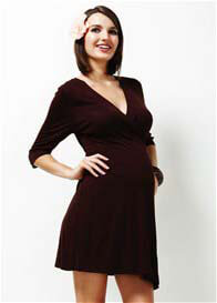 Trimester™ - Enchanted Jersey Wrap Dress