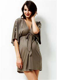 Queen Bee Divinity Kimono Maternity Robe/Jacket by Trimester Clothing