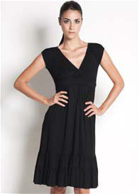 Dote - 9th Street Nursing Dress in Black