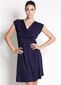 Dote - Twinkle Nursing Dress in Navy