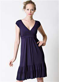 Dote - 9th Street Nursing Dress in Navy
