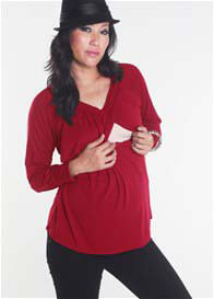 Milky Way - Julie Long Sleeve Nursing Blouse