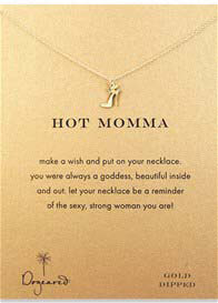 Queen Bee Hot Momma Necklace w High Heel Charm by Dogeared
