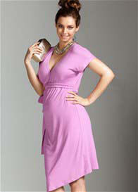 Trimester™ - Adore Wrap Dress in Persian Rose