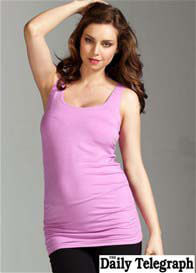 Trimester™ - Miracle Maternity Tank in Persian Rose