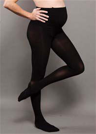 Ambra - Opaque Baby Bump Maternity Tights