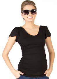Quack Nursingwear - Ashton Angel Sleeve Top