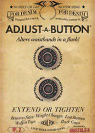 Queen Bee Adjust-A-Button Pants Extender by Bristols 6