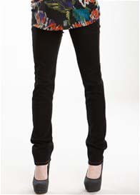 Maternal America - Black Skinny Maternity Jeans - ON SALE