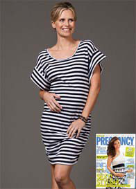 Trimester™ - Maritime Striped Dress