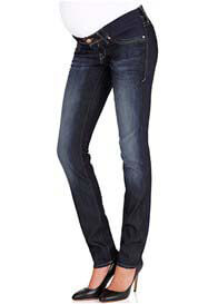 Queen Bee Jessica Rinse Rome Skinny Maternity Jeans by Mavi
