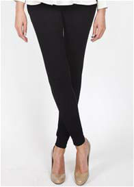 Queen Bee San Diego Black Maternity Treggings by Slacks & Co