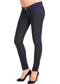 Queen Bee Starless Maternity Denim Jean Leggings by J Brand