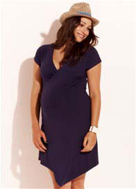 Trimester™ - Anouk Navy Wrap Dress
