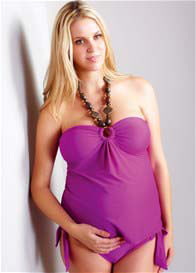 Maternal America - Summer Orchid Tankini - ON SALE