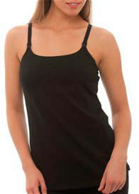 La Leche League - Essential Black Nursing Cami