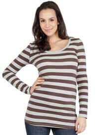 NOM - Cole Striped Tee - ON SALE