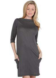 Queen Bee Beckett Maternity Shift Dress by NOM Maternity
