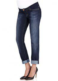 Queen Bee Haley Boyfriend Maternity Jeans by Mavi