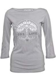 MamaFeelsGood - One Love Grey Nursing Shirt - ON SALE