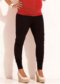 Queen Bee Downtown Black Maternity Pants by Trimester Clothing