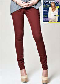 Mavi - Reina Mountain Red Skinny Jeans - ON SALE