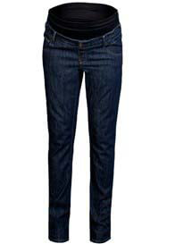 Queen mum - Dark Rinse Straight Leg Jeans - ON SALE