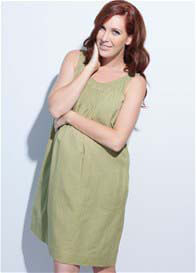 Ripe Maternity - Heatwave Linen Dress - ON SALE