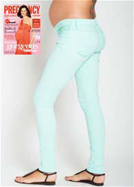 Mavi - Reina Mint Pastel Stretch Skinny Jeans - ON SALE