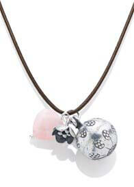 Poupke - Elisa Pink Quartz Necklace