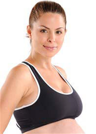 Queen Bee Lily Maternity Active Sports Bra by Via Privé