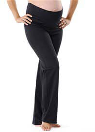 Queen Bee Dahlia Maternity Active Workout Pants in Black by Via Privé