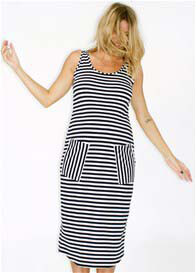 Fillyboo - Baby Lets Dance Reverse Stripe Dress