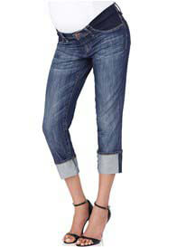 Queen Bee Nikki Power Nolita Maternity Capri Jeans by Mavi
