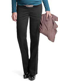 Esprit - Black Cotton Trousers