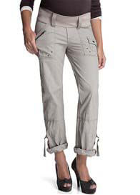 Esprit - Cargo Pants in Pebble - ON SALE