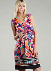 Maternal America - Border Print Dress - ON SALE