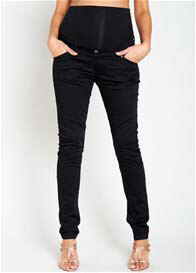 Queen Bee Camren Skinny Black Maternity Pants by Noppies