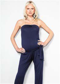 Slacks & Co - Bangkok Jumpsuit in Navy