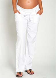 Noppies - White Linen Pants