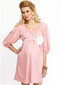 Queen Bee Pink Baby Shower Maternity Dress by More of Me